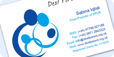 Deaf Parenting UK (DPUK) Contact Us